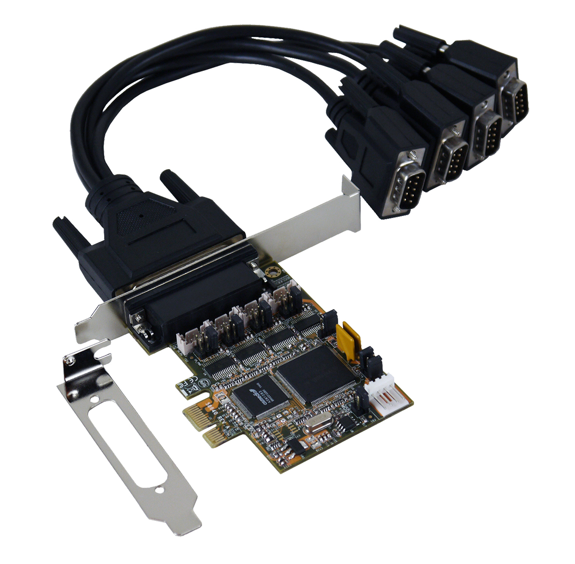 EXSYS EX-44384 interface cards/adapter VGA Internal