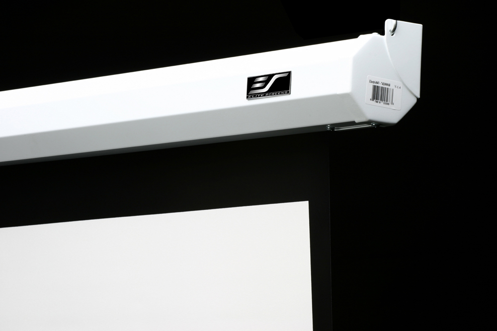 Elite screens electric100v 100 4 3 projection screen 0 for Black diamond motorized screen price