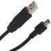 V7 Mini-USB Cable black USB 2.0 A to Mini-B (m/m) 2m