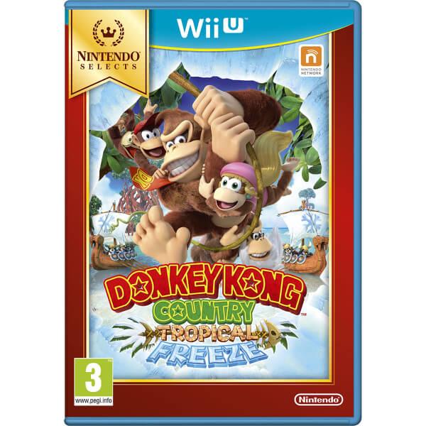 Nintendo DONKEY KONG COUNTRY: TROPICAL FREEZE Wii U German, English, Spanish, French, Italian video game