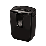 Fellowes M-7C paper shredder Cross shredding Black