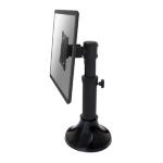 """Newstar Tilt/Turn/Rotate Desk Mount (grommet) for 10-30"""" Monitor Screen, Height Adjustable - Black"""