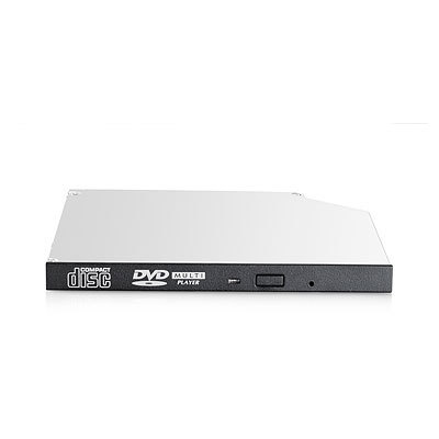 Hewlett Packard Enterprise 9.5mm SATA DVD-ROM JackBlack Optical Drive