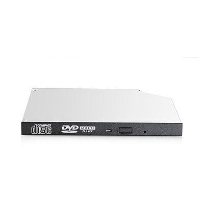 Hewlett Packard Enterprise 9.5mm SATA DVD-ROM JackBlack Optical Drive Internal DVD-ROM Black optical disc drive