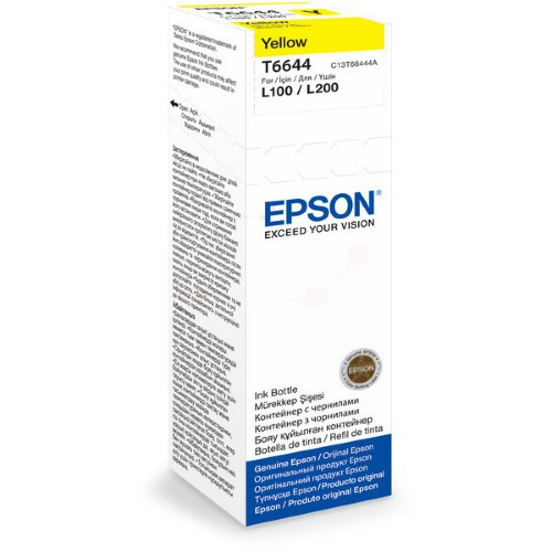Epson C13T66444A (T6644) Ink cartridge yellow, 6.5K pages, 70ml