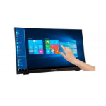 "Hannspree HT 225 HPB touch screen monitor 54.6 cm (21.5"") 1920 x 1080 pixels Black Multi-touch Tabletop"