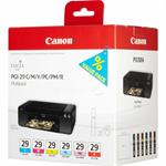 Canon 4873B005 (PGI-29) Ink cartridge multi pack, Pack qty 6