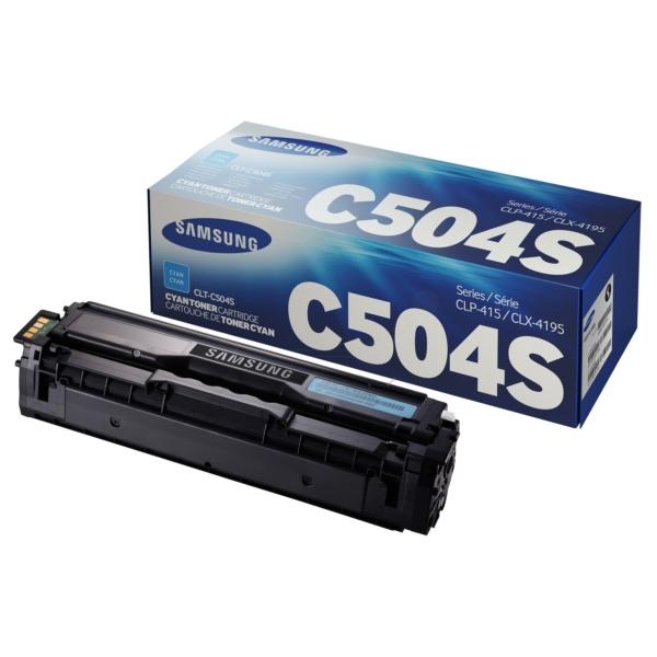 Samsung CLT-C504S/ELS (C504) Toner cyan, 1.8K pages