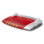 AVM FRITZ!Box 7490 Dual-band (2.4 GHz / 5 GHz) Gigabit Ethernet 3G Red,Silver wireless router