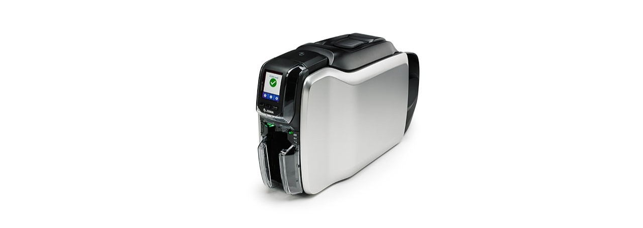 Zebra ZC300 impresora de tarjeta plástica Pintar por sublimación/Transferencia térmica Color 300 x 300 DPI