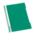 Durable CLEAR VIEW FOLDER 2570 A4 green report cover