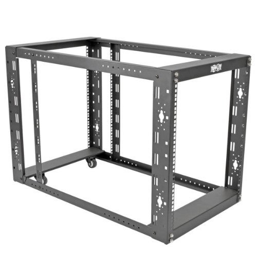 Tripp Lite 12U SmartRack 4-Post Open Frame Rack Cabinet Standard-Depth