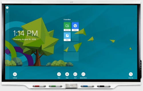"Smart Board 7075 touch screen monitor 190.5 cm (75"") 3840 x 2160 pixels White Multi-touch Multi-user"