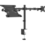 "Vision VFM-DPD2B+S notebook stand Notebook & monitor arm Black 68.6 cm (27"")"