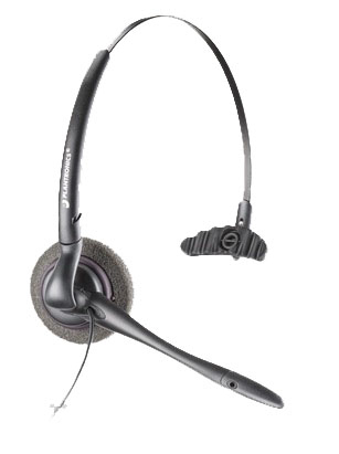 Plantronics MO200-mUSB mobile headset Monaural Black