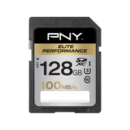 PNY 128 GB SDXC 128GB SDXC UHS-I Class 10 memory card