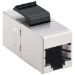 """Intellinet Keystone Coupler, Cat5e, FTP, for 19"""" panels"""