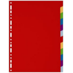 Exacompta 4912E divider Multicolour