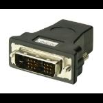 Lindy HDMI FM/ DVI-D M Adapter HDMI-A FM Black