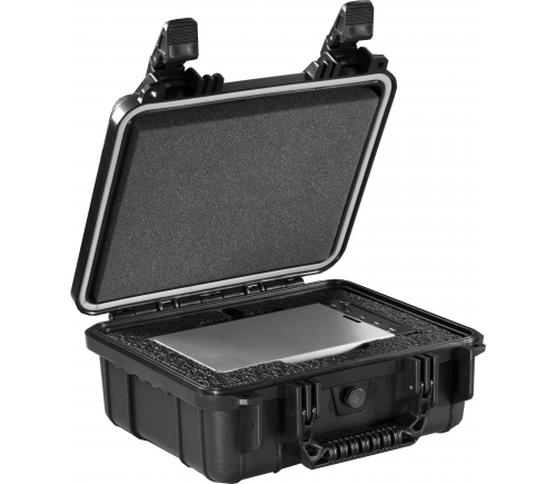 CRU CRU DCP Kit #1- Includes DX115 DC Carrier- shipping case with custom foam- 0GB (no HDD)
