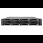 QNAP REXP-1220U-RP 72000GB Rack (2U) Black disk array