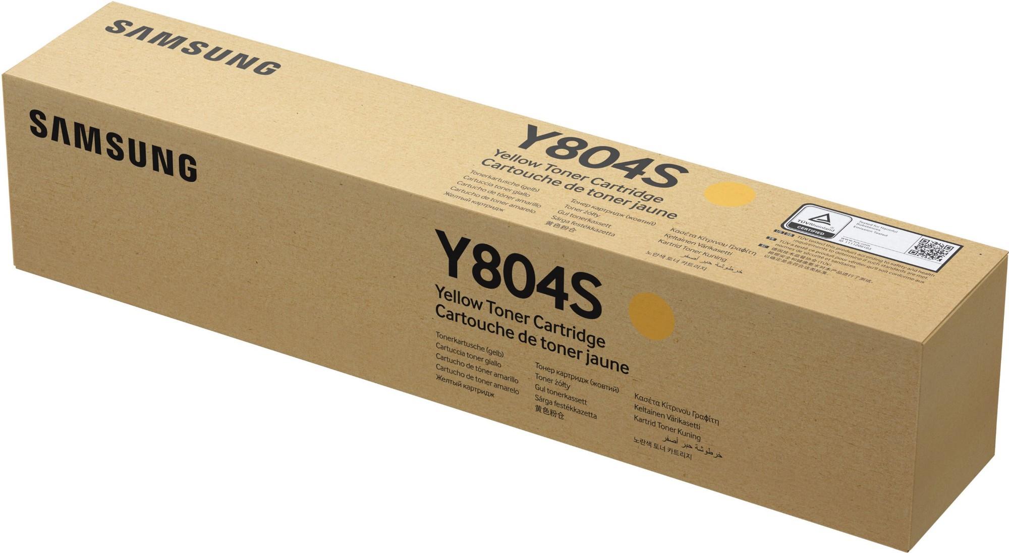 Samsung CLT-Y804S Original Amarillo 1 pieza(s)