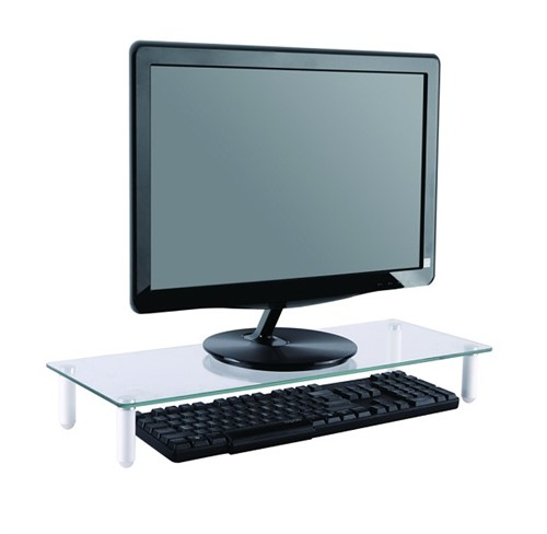 Newstar Transparent Monitor Stand (Clear Acrylic)