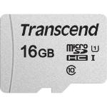 Transcend microSDHC 300S 16GB memory card Class 10 NAND