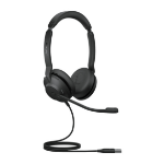 Jabra Evolve2 30, MS Stereo Headset Head-band USB Type-A Black 23089-999-979