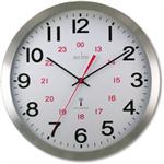 Acctim CENTURY RC ALU WALL CLOCK ALUM