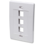 Intellinet 163309 White switch plate/outlet cover