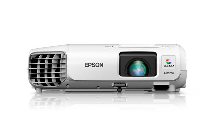 Epson PowerLite 97H Desktop projector 2700ANSI lumens 3LCD XGA (1024x768) White data projector