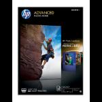 HP Q5456A photo paper Black, Blue, White Gloss A4
