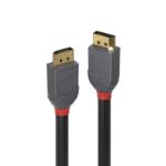 Lindy 36481 DisplayPort cable 1 m Black, Grey