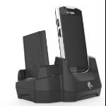 Zebra CRD-TC5X-2SETH-02 charging station organizer Freestanding Plastic Black