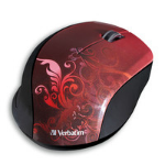 Verbatim 97784 RF Wireless Optical Red mice