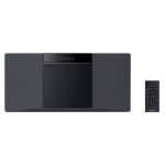 Pioneer X-SMC02D Home audio micro system 20W Black