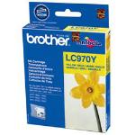 Brother LC-970YBP inktcartridge Origineel Geel 1 stuk(s)
