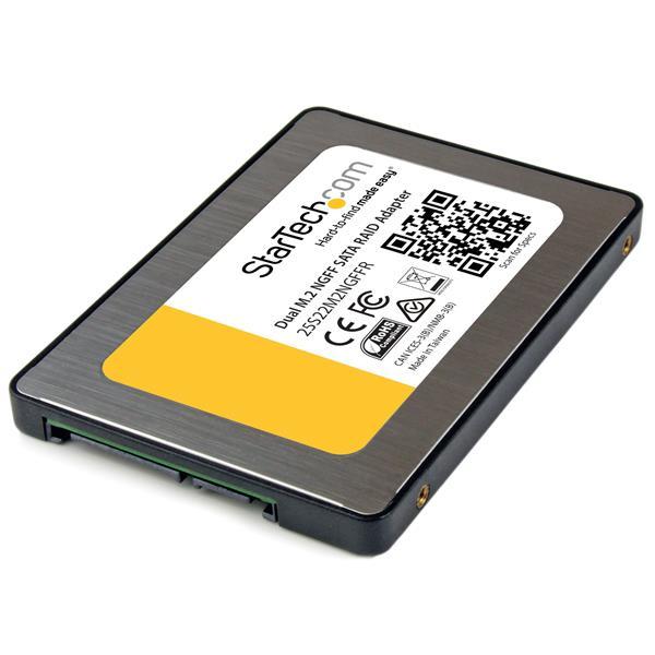 StarTech.com Dual M.2 NGFF SATA Adapter with RAID