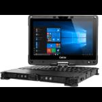 "Getac V110 G5 Hybrid (2-in-1) Black 29.5 cm (11.6"") 1920 x 1080 pixels Touchscreen 8th gen Intel® Core™ i5 16 GB DDR4-SDRAM 256 GB SSD Wi-Fi 5 (802.11ac) Windows 10 Pro"