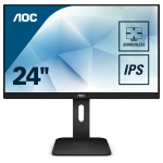 "AOC Pro-line 24P1 computer monitor 60.5 cm (23.8"") 1920 x 1080 pixels Full HD LED Flat Matt Black"