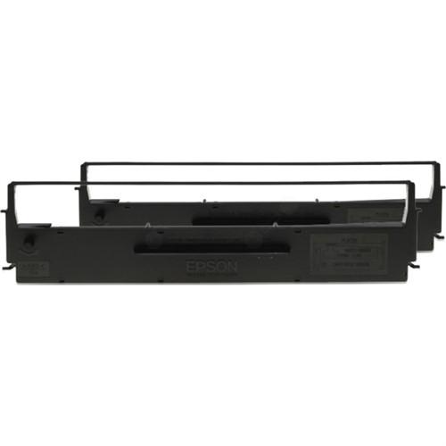 Epson C13S015614 Nylon black, 4000K characters, Pack qty 2