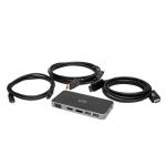 C2G C2G54477 notebook dock/port replicator Wired USB 3.2 Gen 1 (3.1 Gen 1) Type-C Black
