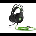 HP 600 Headset Head-band Black,Green