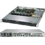 Supermicro A+ Server 1013S-MTR Socket SP3 Rack (1U) Black, Grey