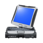 "Panasonic Toughbook CF-19 MK8 2.7GHz i5-3610ME 10.1"" 1024 x 768pixels Touchscreen Black,Silver Hybrid (2-in-1)"