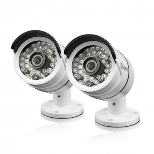 Swann SWPRO-T858PK2 CCTV security camera Indoor & outdoor Bullet White