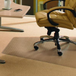 FLOORTEX WORKSTATION CARPET CHAIR MAT 120 X 150CM