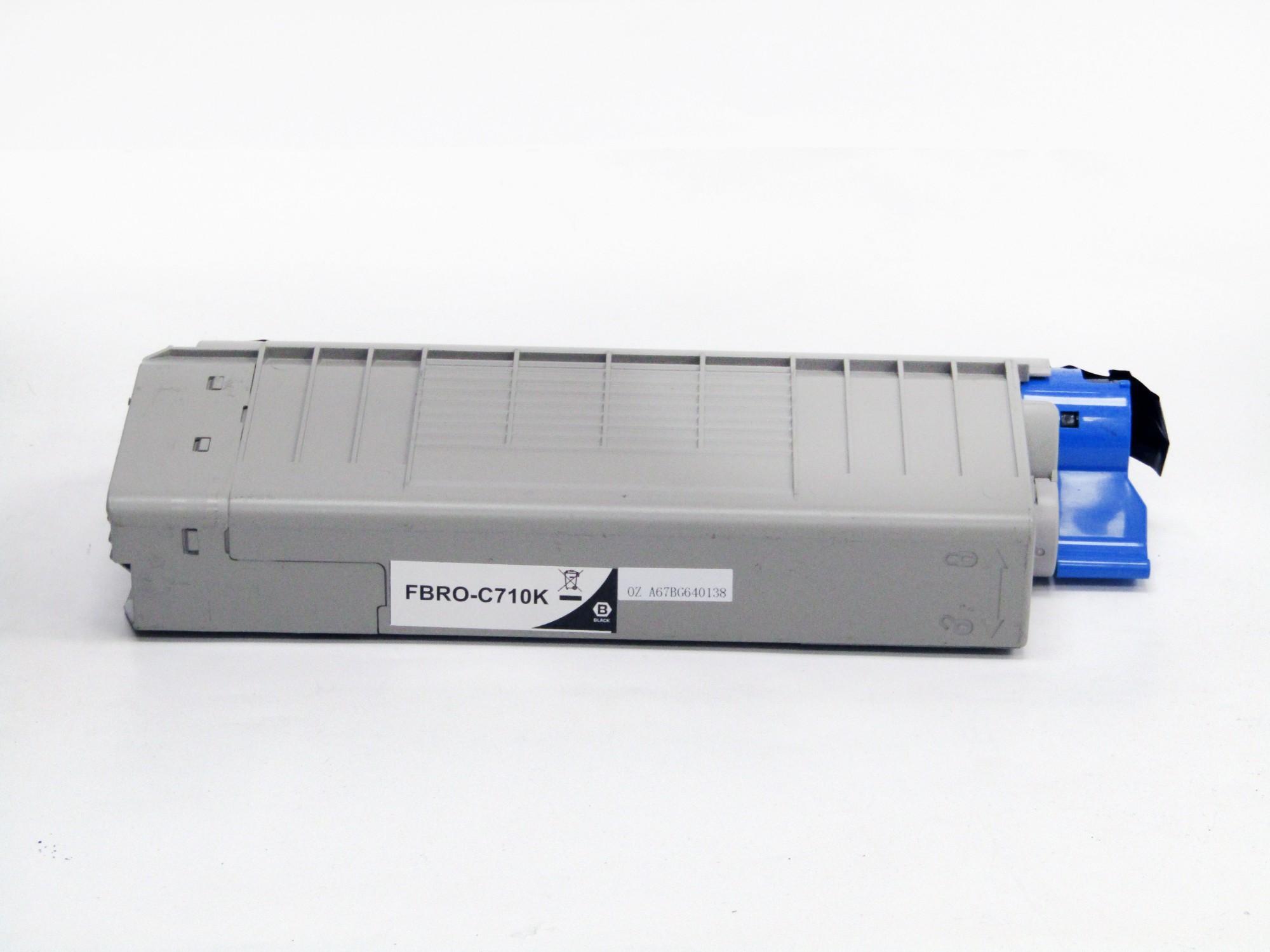 Remanufactured OKI 44318108 Black Toner Cartridge