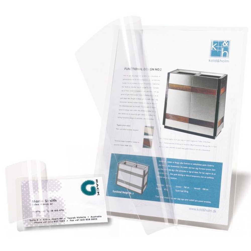 3L Self Laminating Cards A7 11034 (100 Cards)